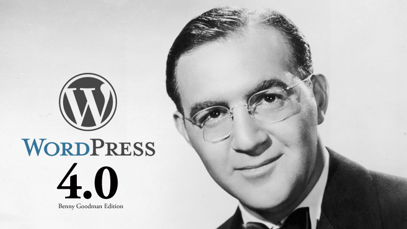 WordPress 4.0 Benny Edition