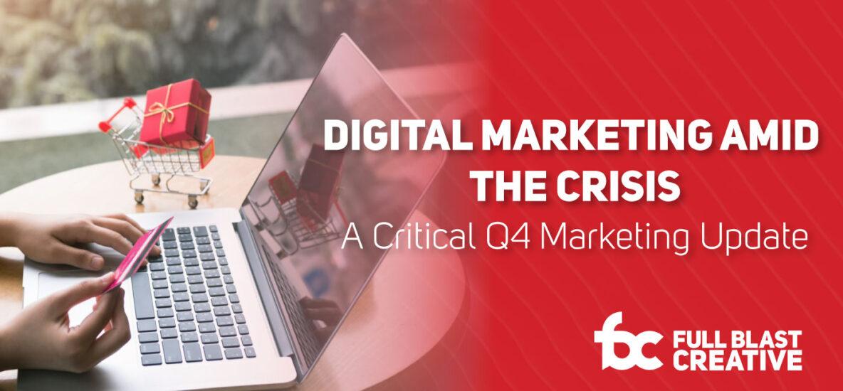 Digital Marketing Amid The Crisis