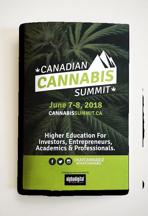 Canadian Cannabis Summit Brochure 2018